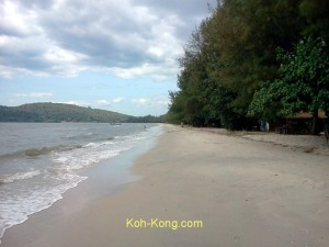 nice beach in koh kong.