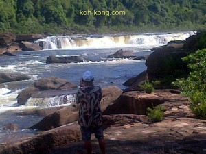 koh kong waterfalls.