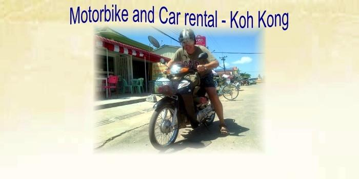 motorbike car rental providers in the town.