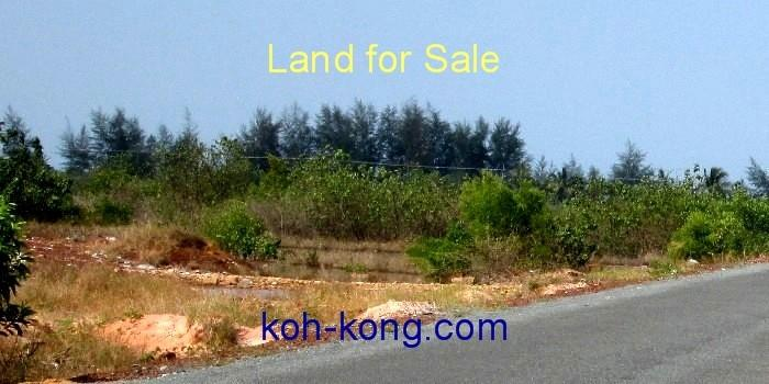 land in koh kong for sale.
