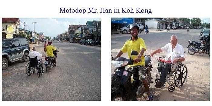 Mister Han in Koh Kong. The man for all seasons.