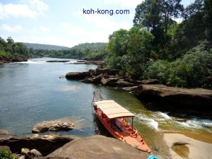 A boat trip in the jungle. with eco adventure tours