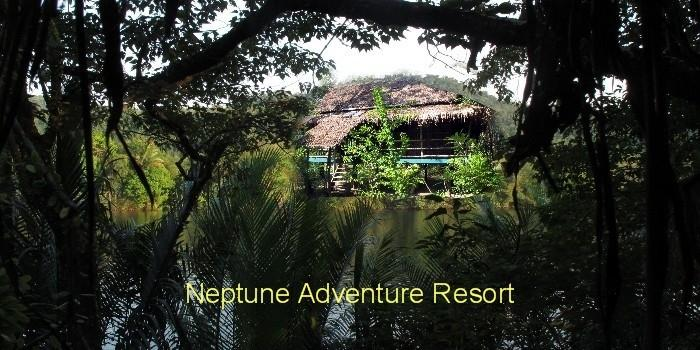 Neptune Adventure River Bungalow Ta Tai Resort. Koh Kong in Cambodia