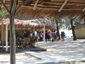 A cozy bungalow on the beach in Koh Kong.
