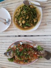 A fish dish in Khmer style.